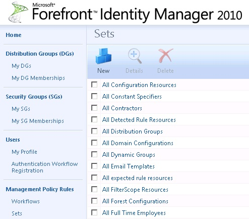 Microsoft Forefront Identity Manager 2010 R2 New Signature