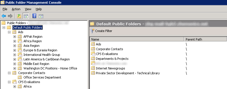 Verifying public folder replication in microsoft exchange for Microsoft public documents