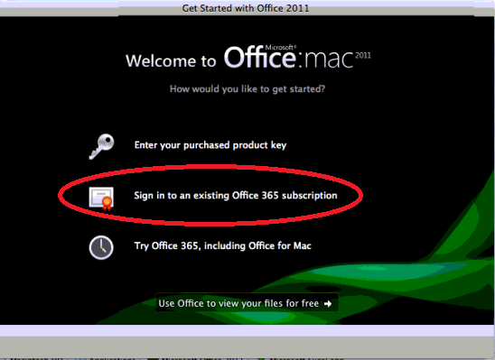 Office for mac change office 365 subscription login