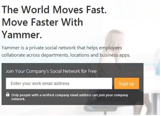 Alright Stop: Yammer Time. - New Signature