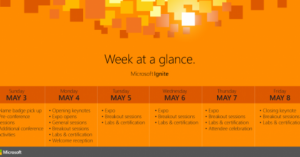 How to choose Microsoft Ignite Sessions