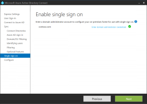Azure AD Seamless Sign On Announced - New Signature