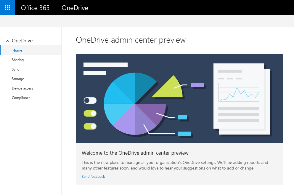 OneDrive Admin Center Featured