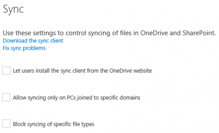 onedrive-admin-center-preview-sync